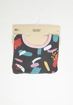 Cotton On - Sugar and spice bib - multi
