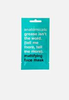 anatomicals - Grease isn't the word - mattifing face mask