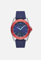 Armani - Sigma - blue & red