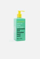 anatomicals - Aint no soap this dope - watremelon and cucumber hand wash