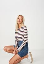 Cotton On - Everyday long sleeve top - multi