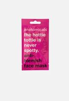 anatomicals - The hottie tottie is never spotty - anti blemish face mask