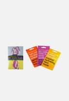 anatomicals - From worrying complex to wonderful complexion - 3 pack face mask