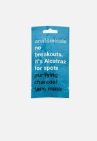anatomicals - No breakouts its alcatraz for spots - charcoal face mask