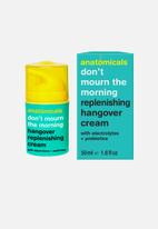 anatomicals - Don't mourn the morning - replensishing hangover cream
