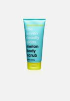 anatomicals - The seven deadly skins - melon body scrub