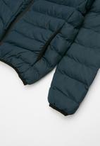 Brave Soul - Boys padded hooded jacket - navy