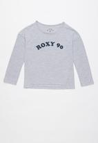 Roxy - Mermaid feeling long sleeve tee - grey