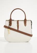 Fossil - Ryder satchel - white