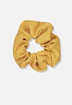 Cotton On - Scrunchie - yellow