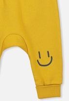 Cotton On - Charlie trackpant - yellow & black