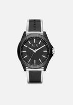 Armani Exchange - Drexler - black & silver
