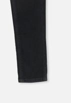 Cotton On - Jordan cord jegging - black