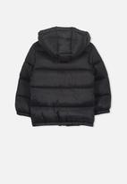 Cotton On - Frankie puffer jacket - black