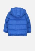 Cotton On - Frankie puffer jacket - blue