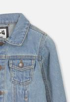 Cotton On - Quinn denim jacket - blue