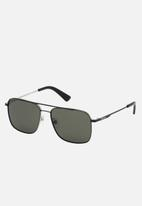 Diesel Eyewear - frame with smoke lenses - black