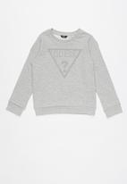 GUESS - Long sleeve active top - grey