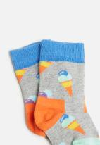 Happy Socks - Ice cream sock - multi