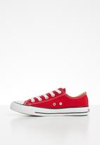 SOVIET - Viper youth low cut sneaker - red
