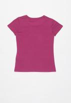 GUESS - Teens short sleeve guess heart arrows tee - purple