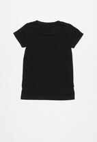 GUESS - Short sleeve guess ombre bling tee - black