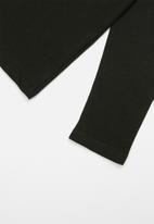 GUESS - Long sleeve tri originals tee - black