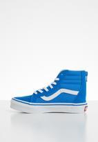 Vans - SK8-hi zip sneaker - blue