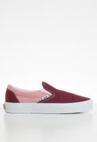 Vans - UA classic slip-on - (chambray) canvas port royale/true white
