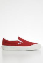 Vans - UA classic slip-on 138 - tango red