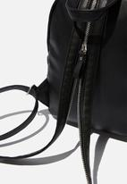Cotton On - Zip it backpack - black