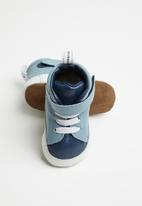 shooshoos - Hotel 244 high top sneaker - blue