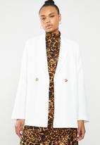 STYLE REPUBLIC - Oversized blazer - white