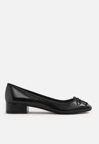 MANGO - Heeled ballerina - black