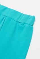 Baby Corner - Sleepysaur 2 piece printed tee & short set - blue