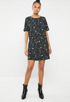 ONLY - Nova lux tee dress - multi