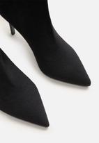 MANGO - High tip boot - black