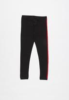 GUESS - Tape fashion legging - black