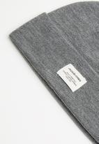 Jack & Jones - Aue short beanie - grey