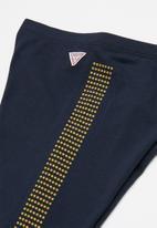 GUESS - Bling detail legging - blue