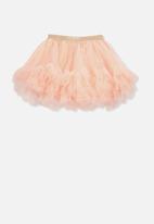 Cotton On - Trixiebelle tulle skirt - peach