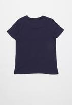 GUESS - Origanal brand tee - blue