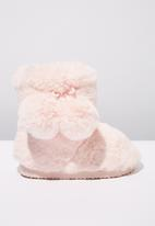 Cotton On - Novelty homeboot - pink