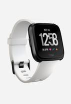 Fitbit - Fitbit versa - white/black