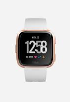 Fitbit - Fitbit versa - white/rose gold