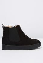 Cotton On - Darcy gusset boot - black
