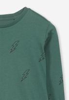 Cotton On - Tom long sleeve tee - green