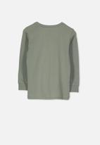 Cotton On - Tom long sleeve tee - khaki
