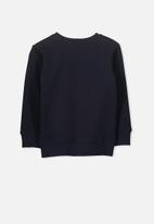 Cotton On - Lachy crew jumper - navy