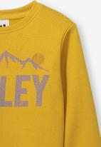 Cotton On - Lachy crew jumper - yellow